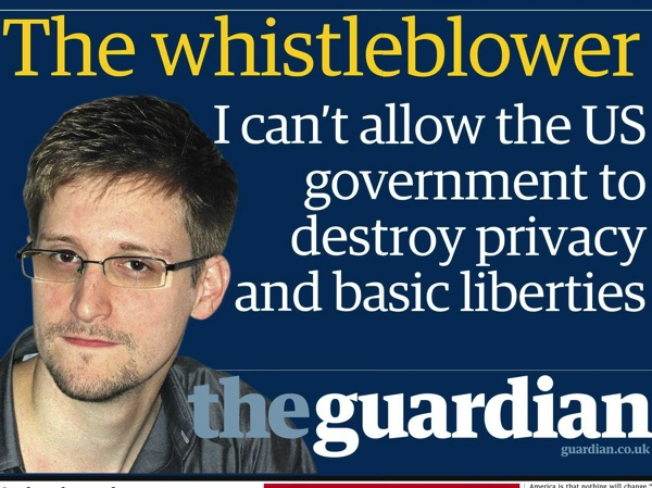 What do you think of national security leaker edward snowden poll