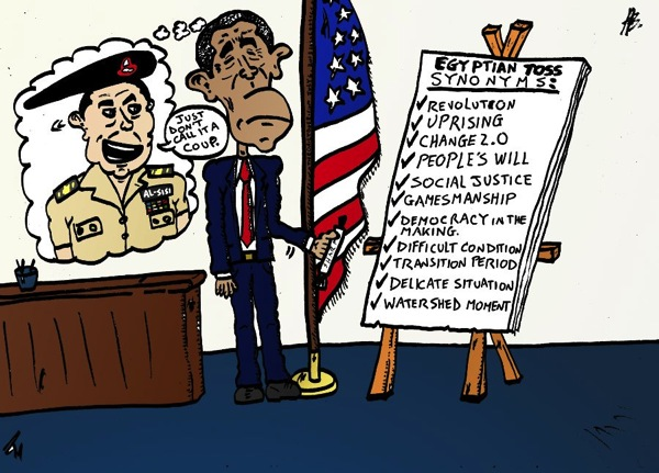 2013 07 06 egypt military coup synonyms political cartoon
